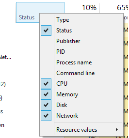 วิธีการ Show PID บน Task Manager
